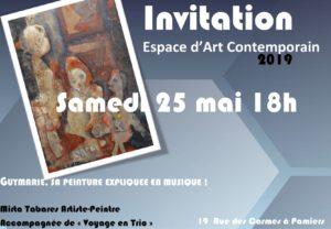 Concert Expo Guy Marie @ Espace d'Art Conemporain